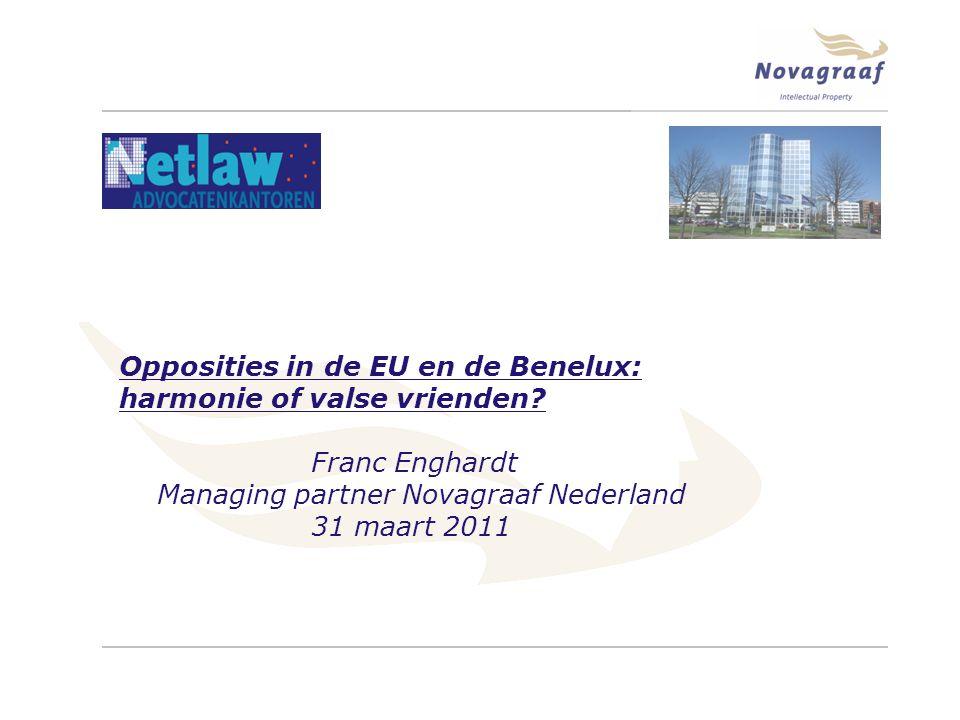 Opposities in de EU en de Benelux: harmonie of valse vrienden.