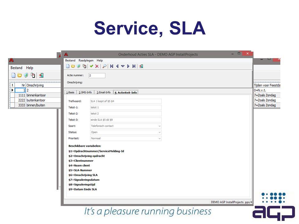 Service, SLA