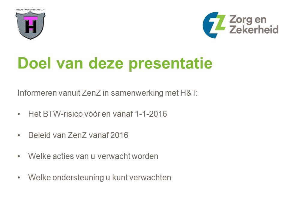 Actie Zorg en Zekerheid Week van 7 maart mail met presentatie en link naar onze website.