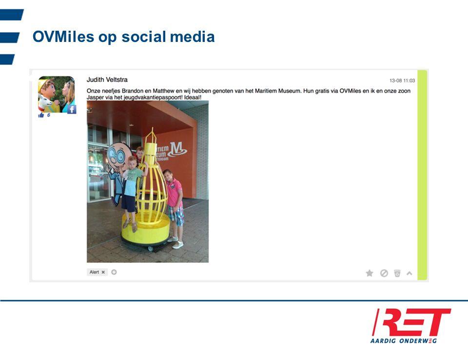 OVMiles op social media