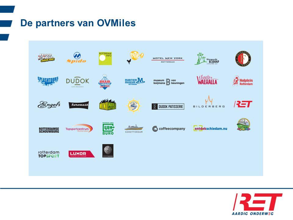 De partners van OVMiles