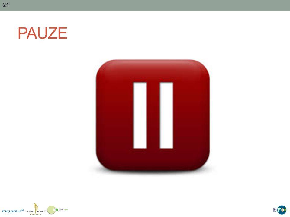 21 PAUZE