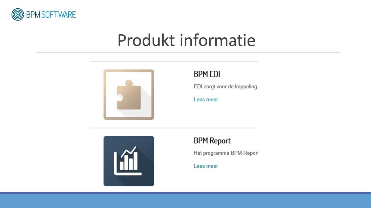 Produkt informatie