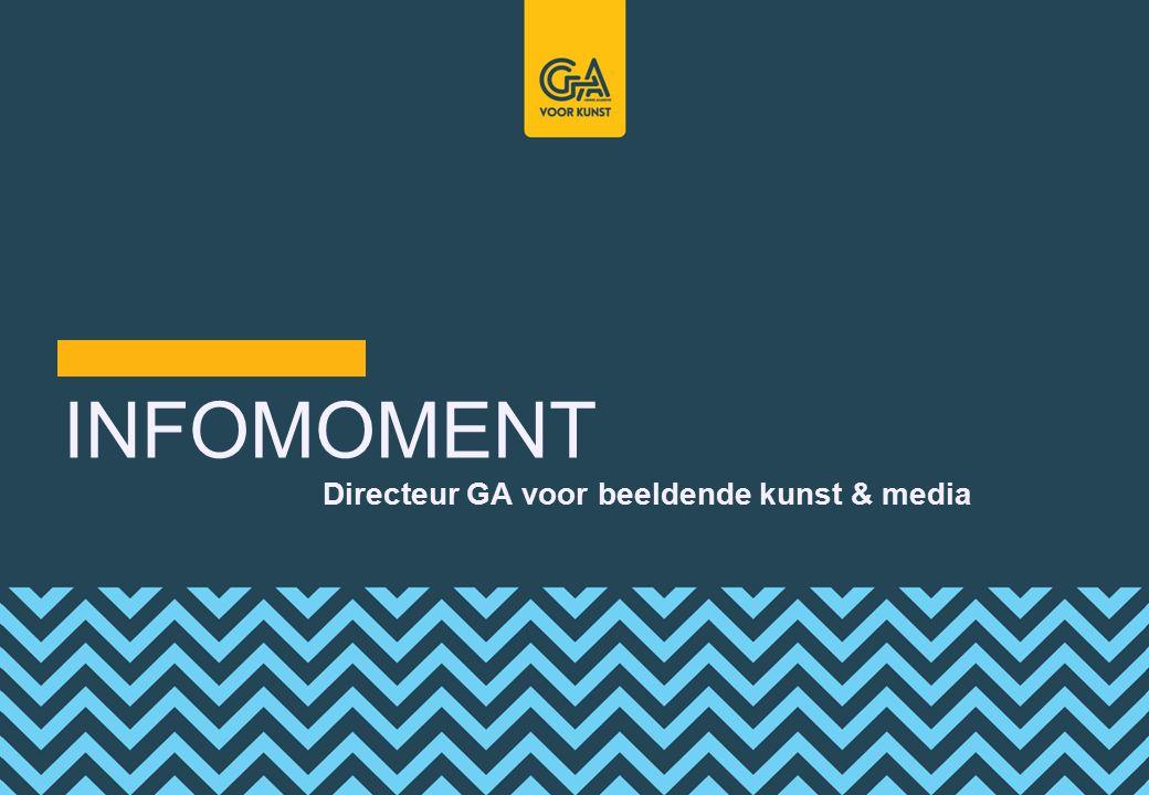 INFOMOMENT Directeur GA voor beeldende kunst & media