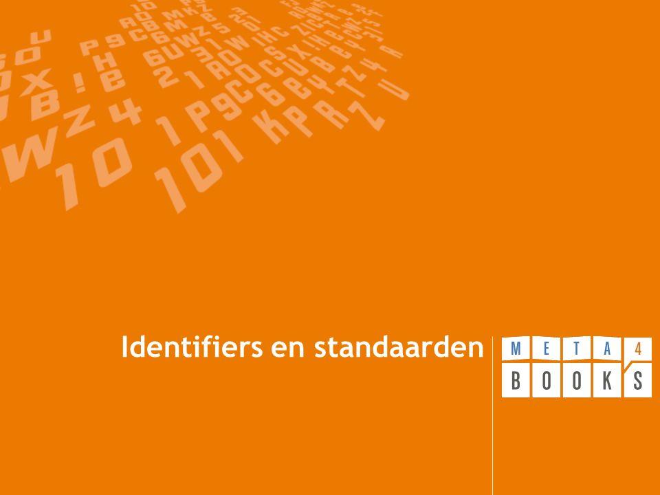 Identifiers en standaarden