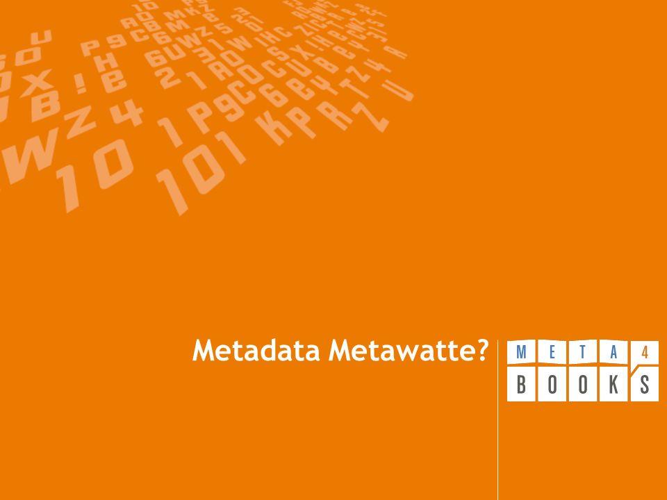 Metadata Metawatte?