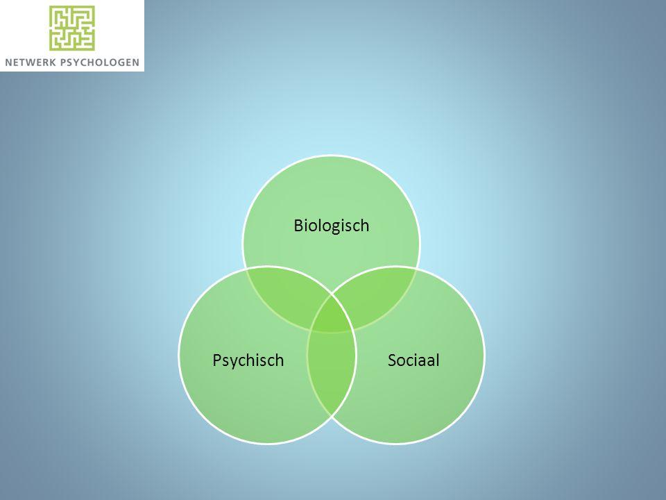 Biologisch SociaalPsychisch