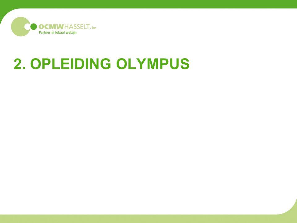2. OPLEIDING OLYMPUS