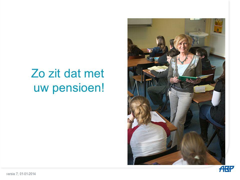Pensioenbedrag variëren.
