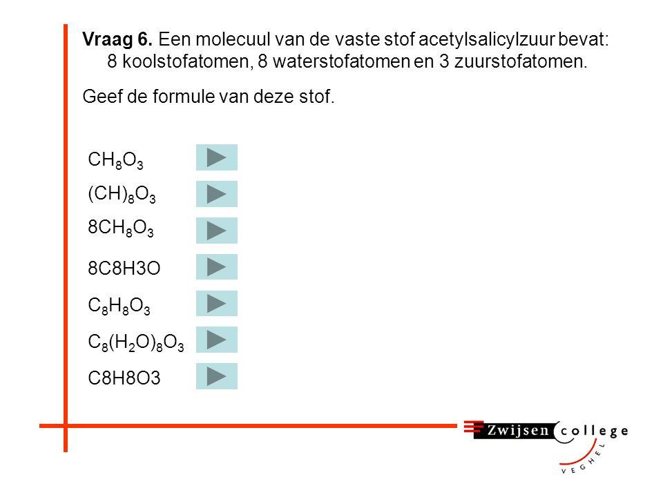 5A. Leg uit dat je het 'bij elkaar blijven' van een vaste stof kunt verklaren door aan te nemen dat de moleculen in deze fase elkaar aantrekken. Als d