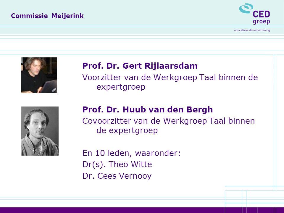 Commissie Meijerink Prof. Dr.