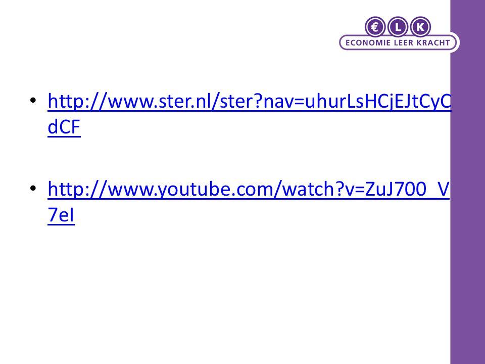 http://www.ster.nl/ster nav=uhurLsHCjEJtCyC dCF http://www.ster.nl/ster nav=uhurLsHCjEJtCyC dCF http://www.youtube.com/watch v=ZuJ700_V 7eI http://www.youtube.com/watch v=ZuJ700_V 7eI
