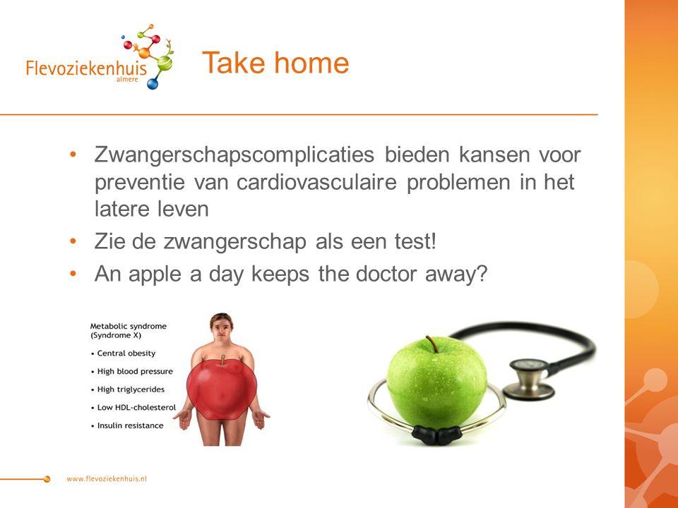 Take home Zwangerschapscomplicaties bieden kansen voor preventie van cardiovasculaire problemen in het latere leven Zie de zwangerschap als een test.