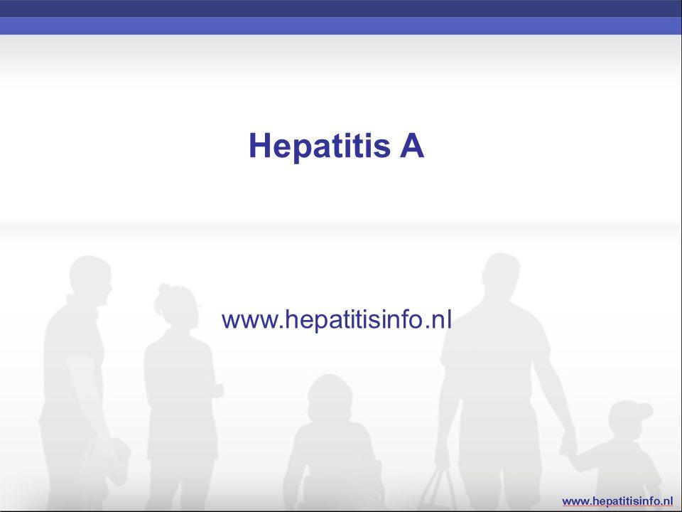 Hepatitis A Epidemiologie Transmissie Virologie Symptomen van een infectie met hepatitis A Diagnostiek Behandeling Preventie