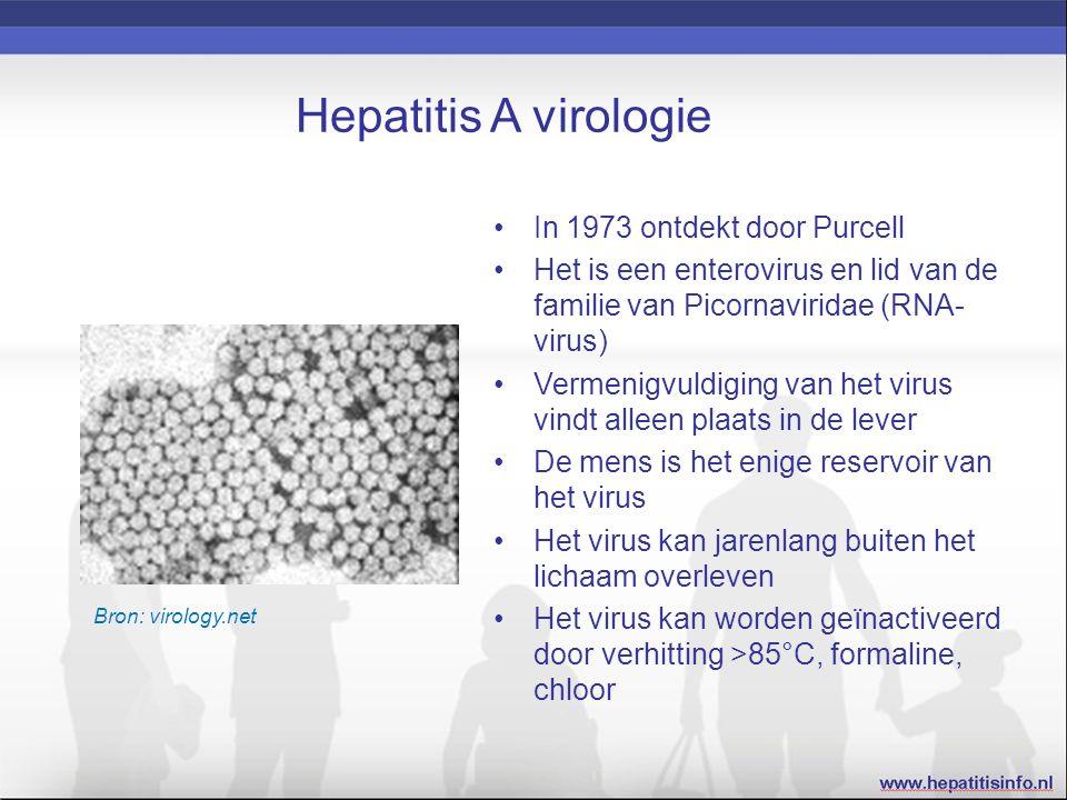 Bronnen WHO Hepatitis A factsheet LCI-richtlijn Hepatitis A NHG-Standaard Virushepatitis en andere leveraandoeningen Farmacotherapeutisch Kompas / Hepatitis A-vaccin