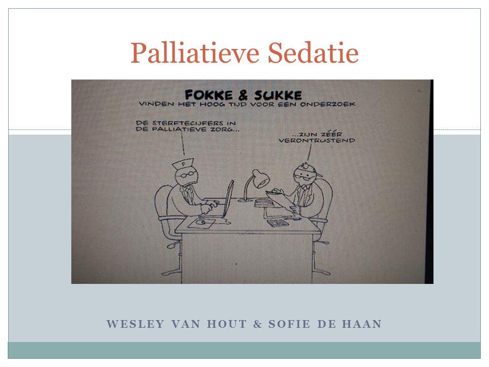 WESLEY VAN HOUT & SOFIE DE HAAN Palliatieve Sedatie