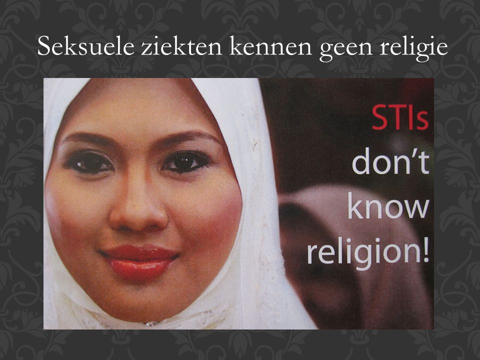Seksuele ziekten kennen geen religie