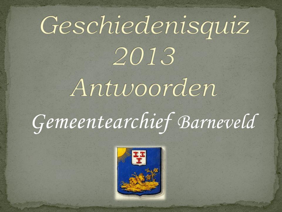 Vraag 19 Op 4 april 1938 plantten leerlingen van de Julianaschool een boom aan de Gasthuisstraat in Barneveld ter ere van…?