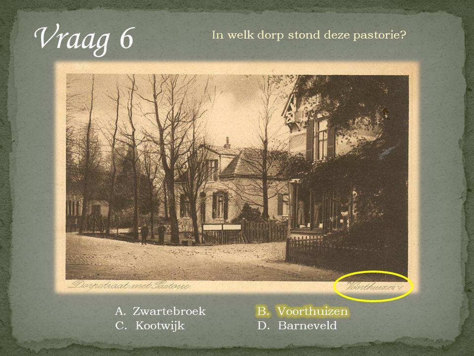 Vraag 15 De gemeente Barneveld kent vier bedrijven die hofleverancier zijn.