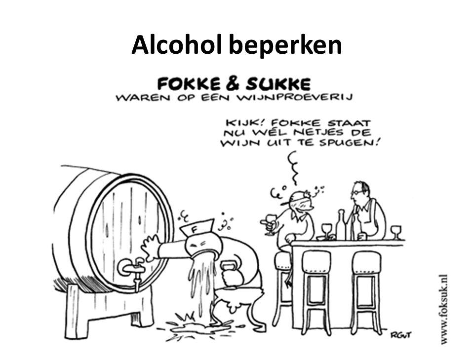 Alcohol beperken