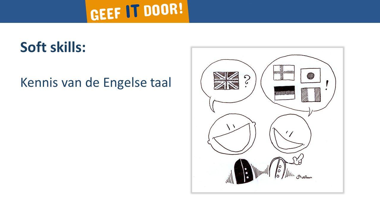 Soft skills: Kennis van de Engelse taal