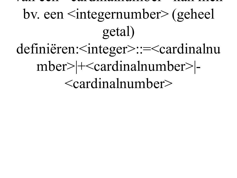 Dus 123 is een Vertrekkend van de definitie van een kan men bv.