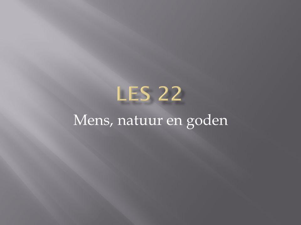 Mens, natuur en goden