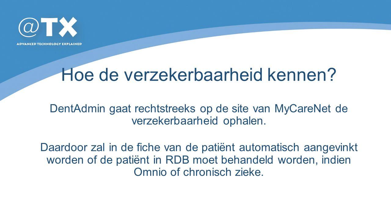 Chronische zieken Het feit dat een patiënt chronische ziek is verandert niets aan zijn statuut.