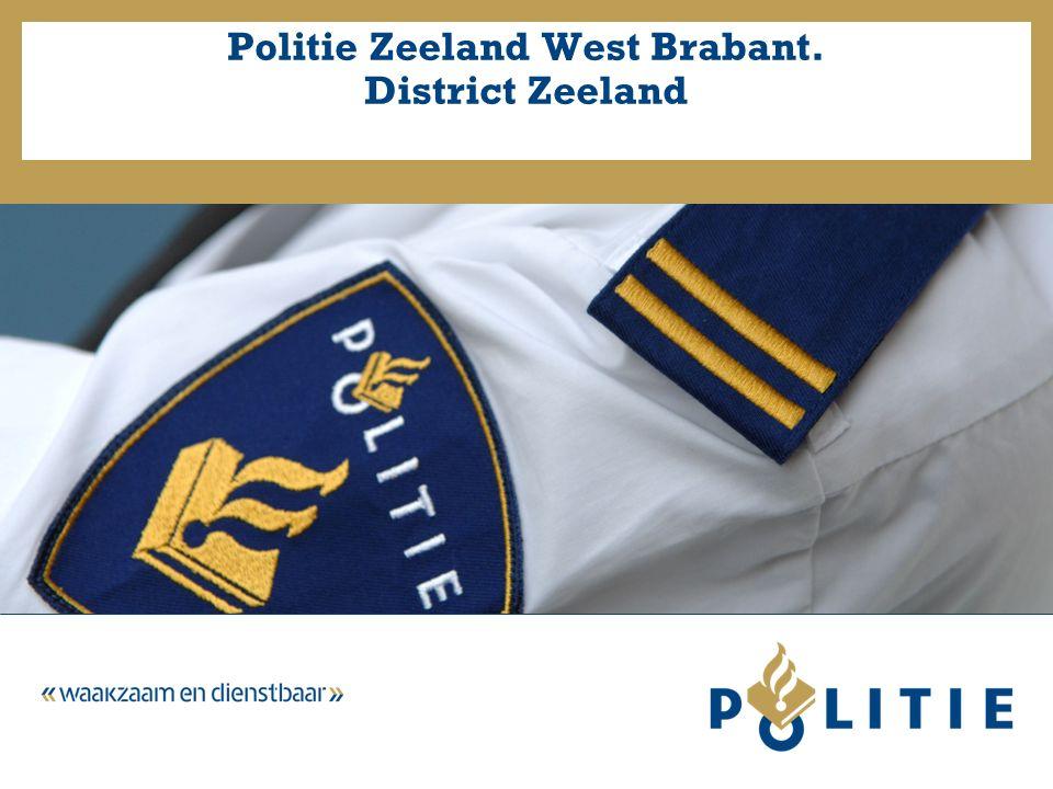 Politie Zeeland West Brabant. District Zeeland