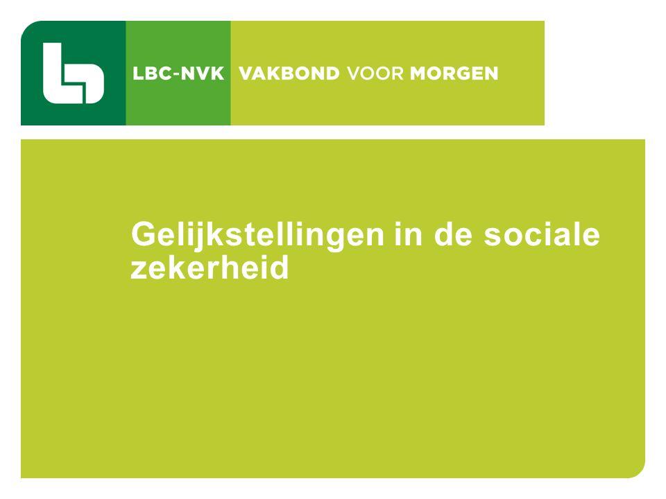 CAO 103 TIJDSKREDIET EN DE THEMATISCHE VERLOVEN 76 Gelijkstellingen in de sociale zekerheid