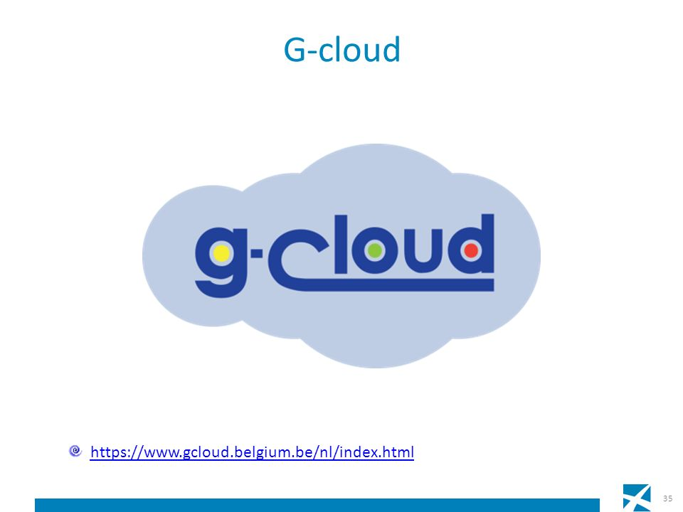 G-cloud 35 https://www.gcloud.belgium.be/nl/index.html