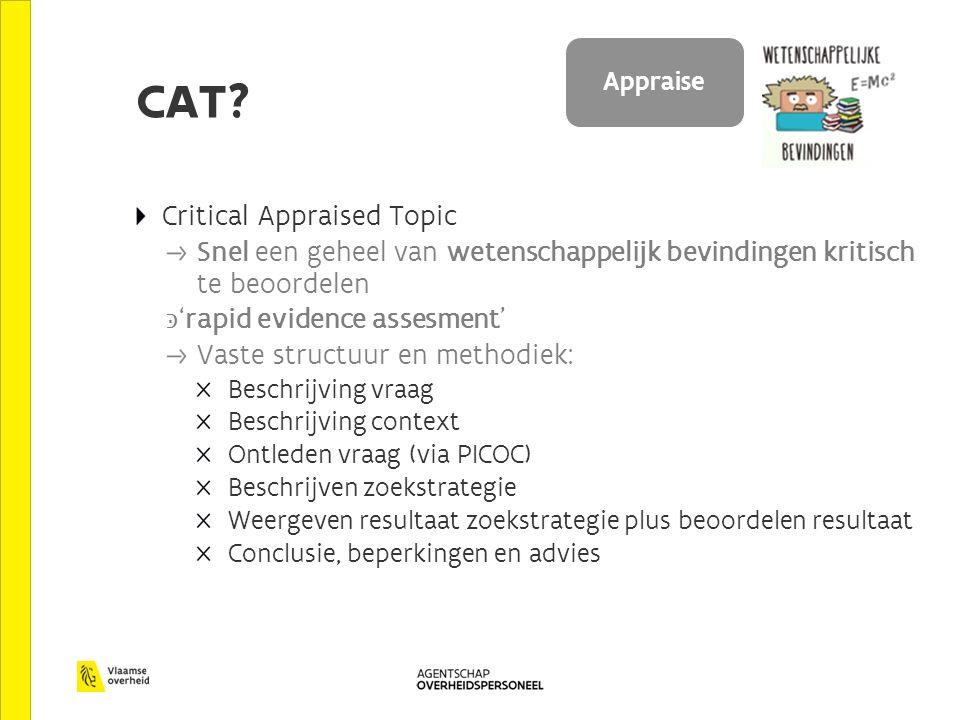 CAT Appraise