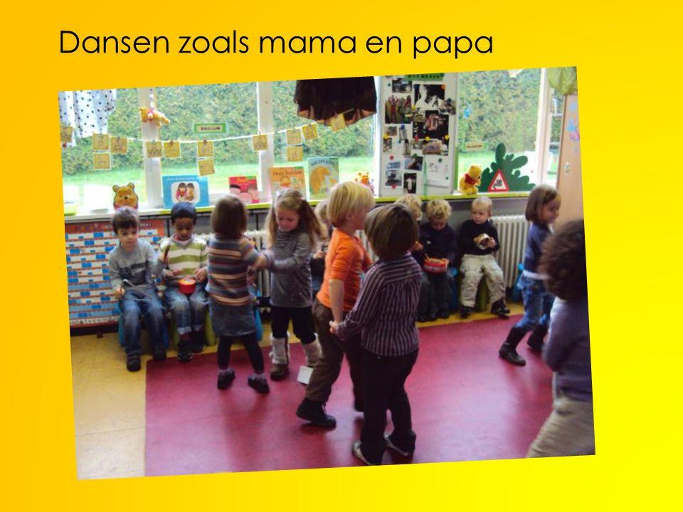 Dansen zoals mama en papa