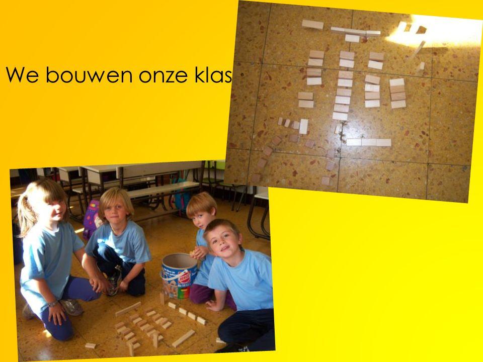 We bouwen onze klas