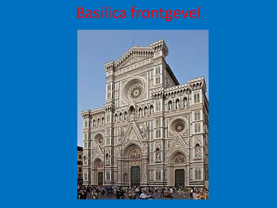 Basilica frontgevel