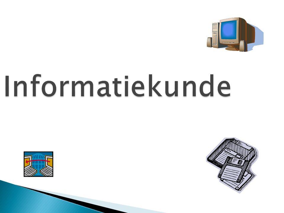 Informatiekunde