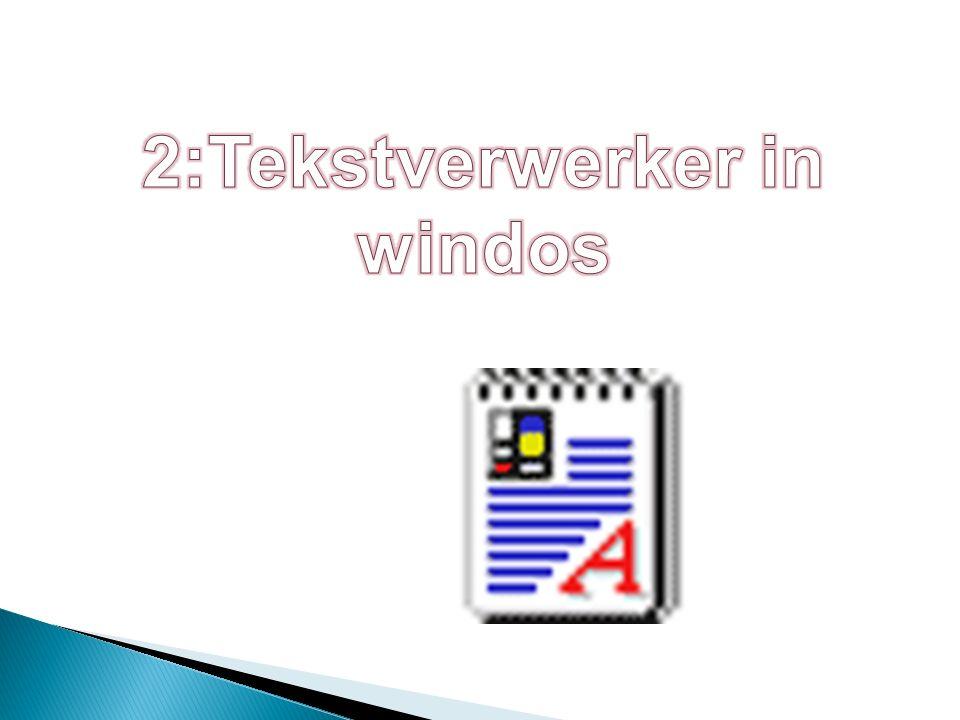Nieuw bestand maken blz 31 -Start -All programs -Accessories -Notepad