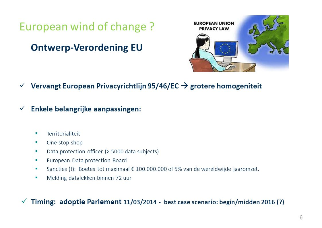 European wind of change .