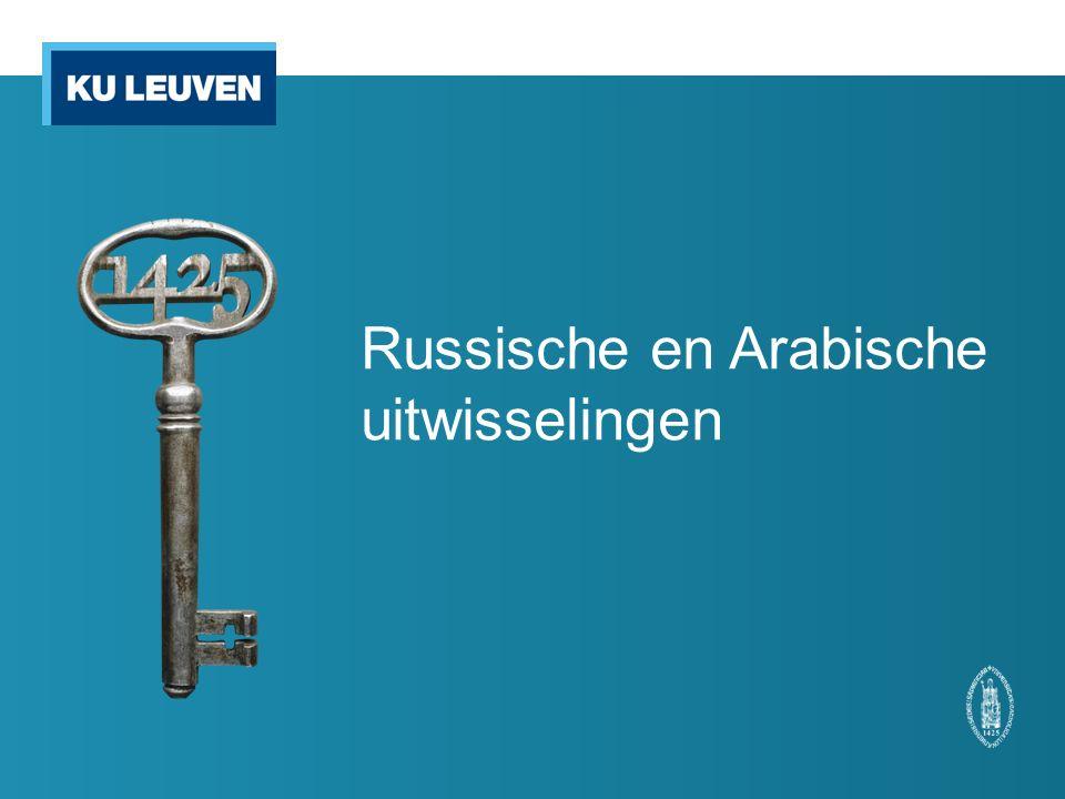 Russische en Arabische uitwisselingen