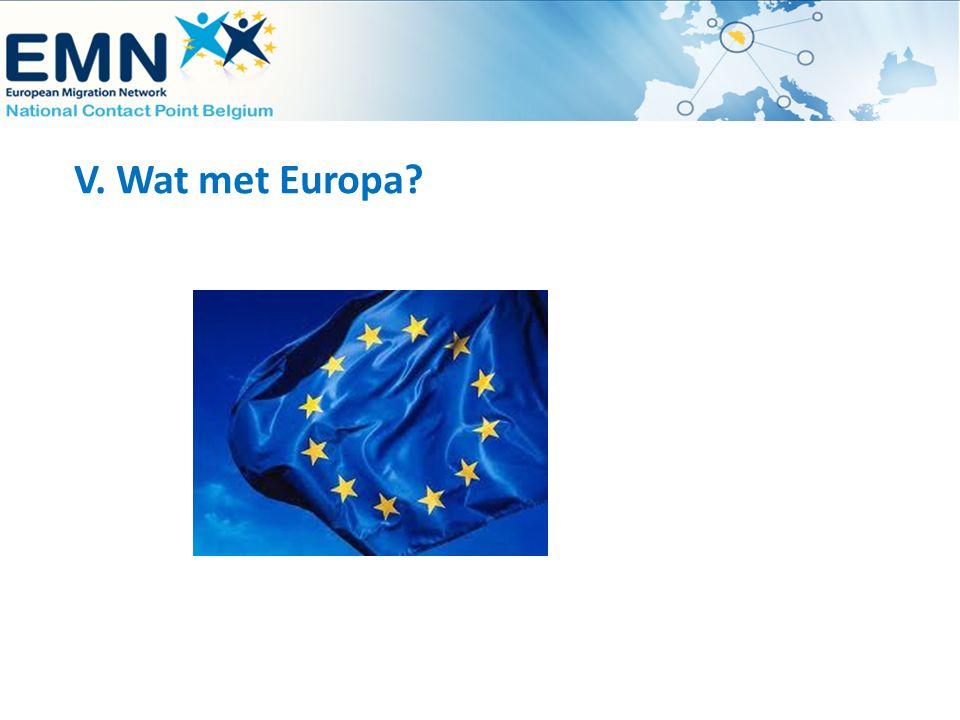 V. Wat met Europa?