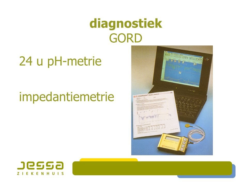diagnostiek GORD 24 u pH-metrie impedantiemetrie