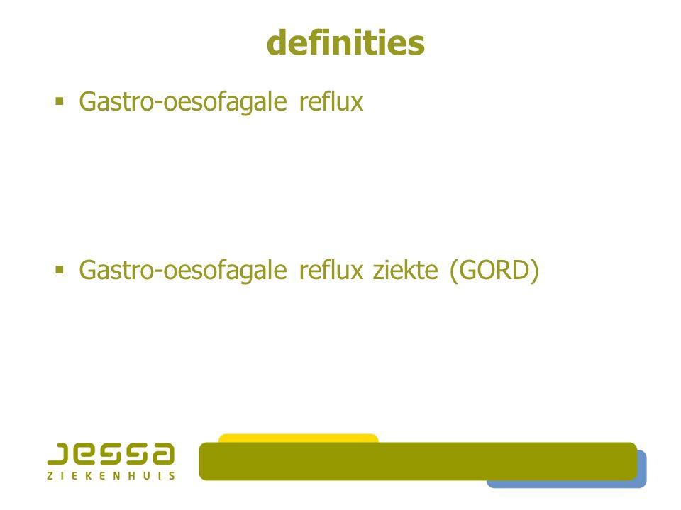 diagnostiek GORD RX SMD