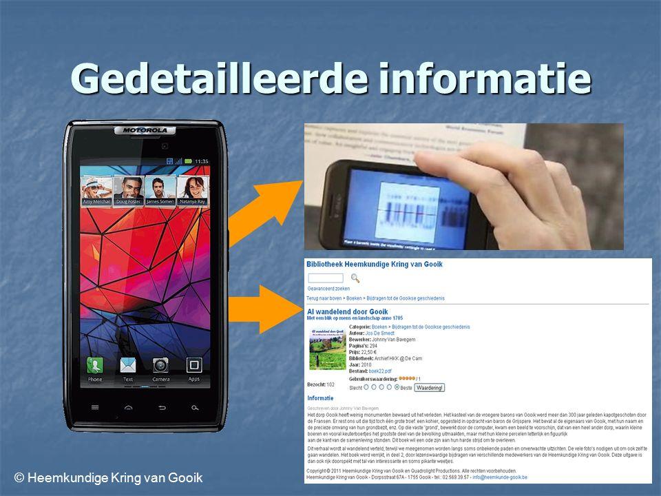© Heemkundige Kring van Gooik Gedetailleerde informatie