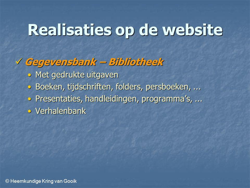 © Heemkundige Kring van Gooik Vragen en opmerkingen ?