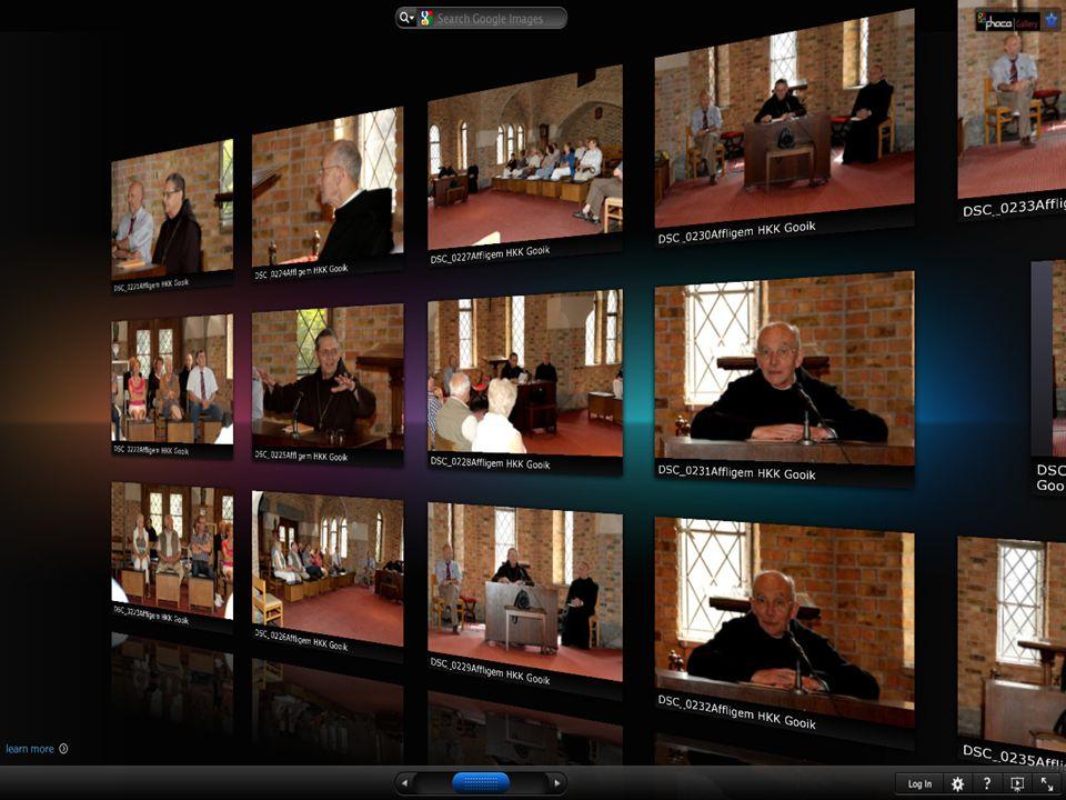 Realisaties op de website Video archief: Gooik in beweging Video archief: Gooik in beweging Reeds meer dan 85 filmsReeds meer dan 85 films Eigen video streaming server (geen reclame)Eigen video streaming server (geen reclame) Ook YouTube, Vimeo, GarageTV,...