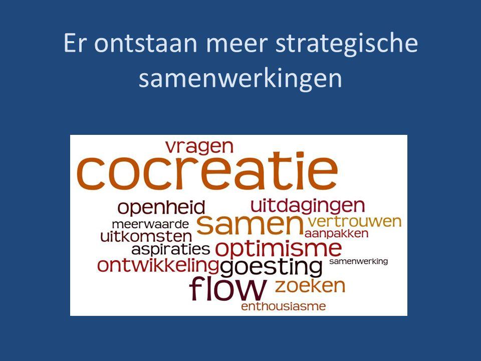 Er ontstaan meer strategische samenwerkingen