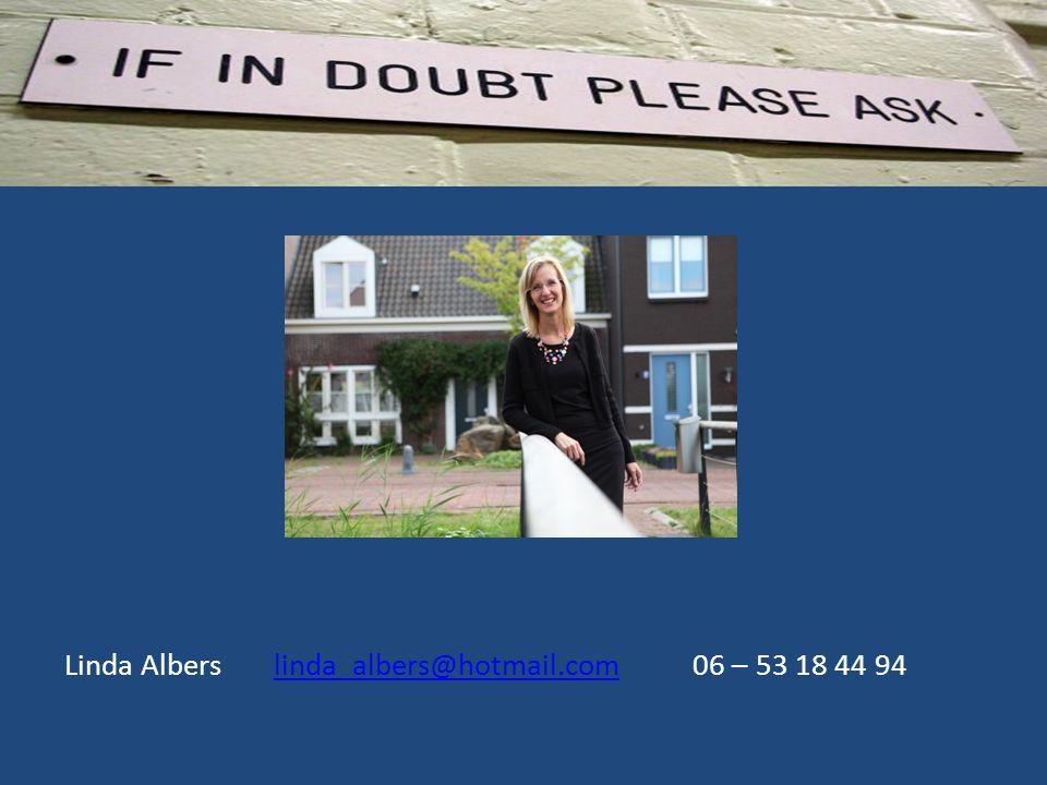 Linda Alberslinda_albers@hotmail.com 06 – 53 18 44 94linda_albers@hotmail.com