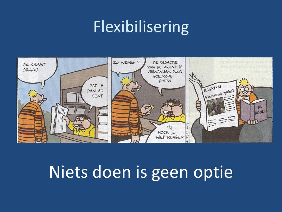 Flexibilisering Niets doen is geen optie