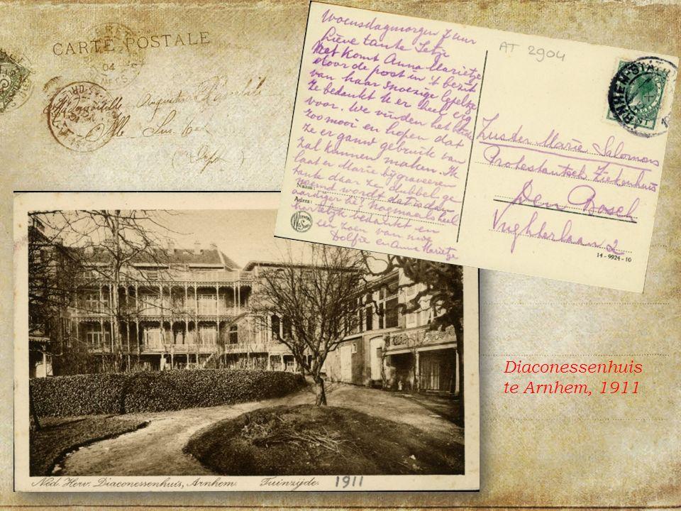 Diaconessenhuis te Arnhem, 1911
