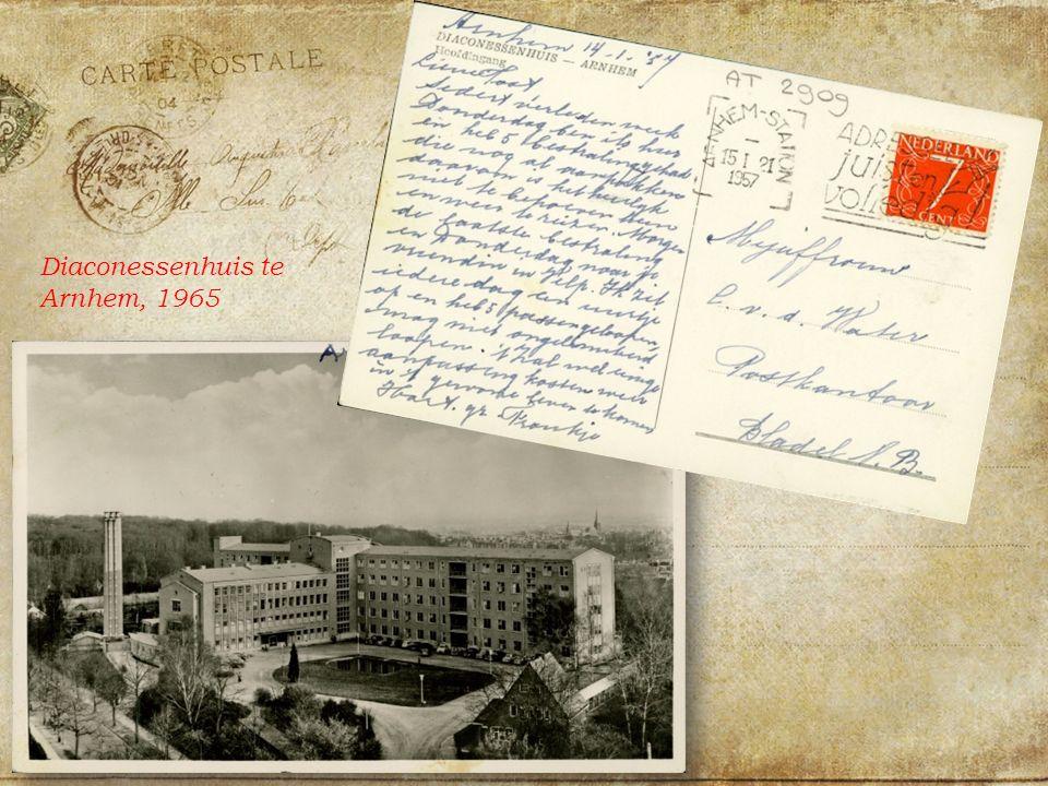 Diaconessenhuis te Arnhem, 1965